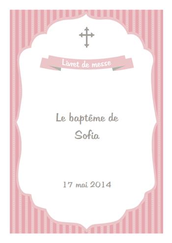 Bien-aimé Créez votre livret de messe mariage ou baptême - pour 24,90€ FJ66
