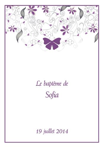 Gut bekannt Créez votre livret de messe mariage ou baptême - Livrets de messe  CS02